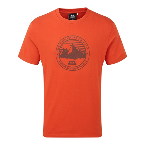 Tričko Mountain Equipment Roundel Tee | Paprika S