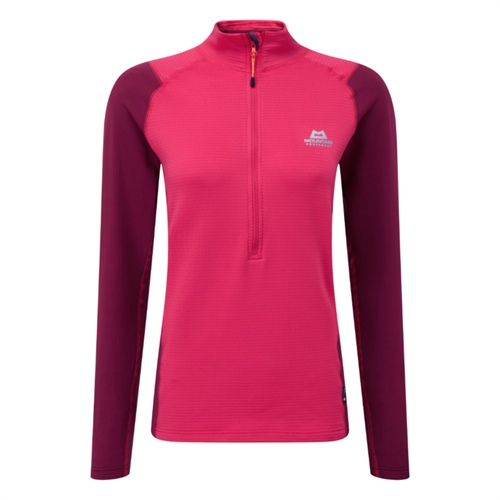 OUTLET - Fleece Mountain Equipment W's Eclipse Zip T | Virtual Pink/Cranberry 10