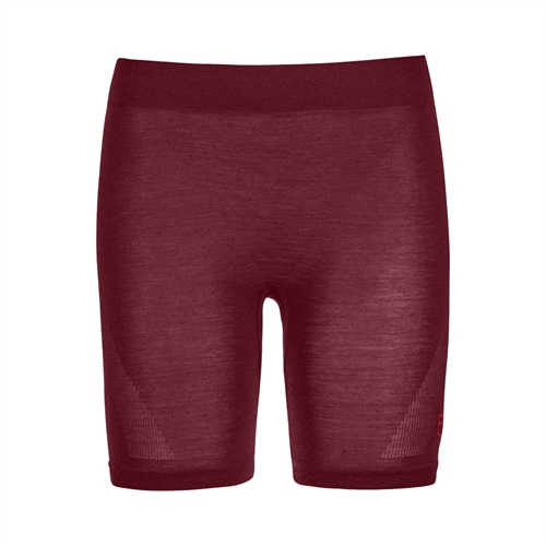 OUTLET - Termoprádlo Ortovox W's 120 Competition Light Shorts | Dark Blood S