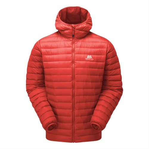 Bunda Mountain Equipment Arete Hooded Jacket | Cardinal Orange S