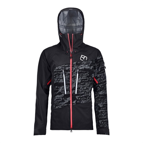 Bunda Ortovox W's Guardian Shell Jacket | Black Raven M