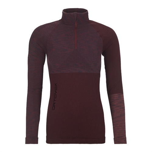 Termoprádlo Ortovox W's 230 Competition Zip Neck | Dark Wine Blend M