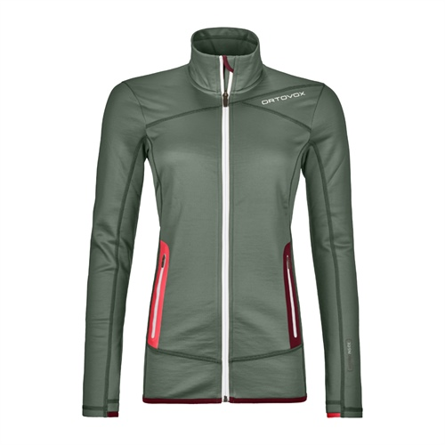 OUTLET - Fleece Ortovox W's Fleece Jacket | Green Forest M