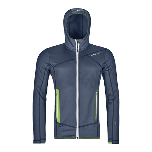 OUTLET - Fleece Ortovox Fleece Hoody | Night Blue M