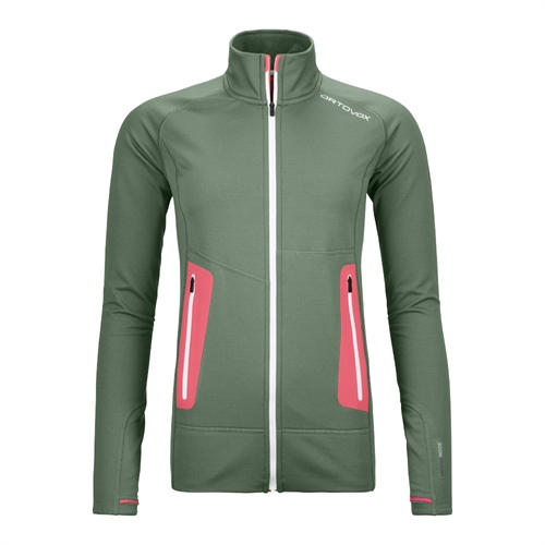 Fleece Ortovox W's Fleece Light Jacket | Green Forest XL