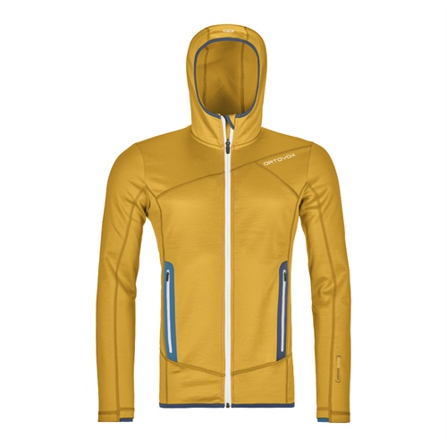 OUTLET - Fleece Ortovox Fleece Hoody | Yellowstone M