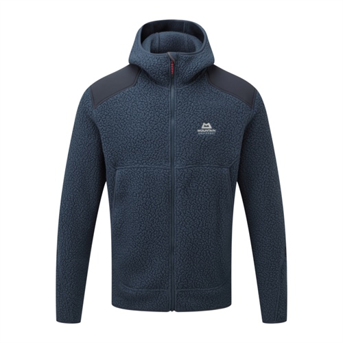 Fleece Mountain Equipment Moreno Hooded Jacket | Denim/Blue Nights S