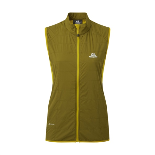 Vesta Mountain Equipment W's Switch Vest | Fir Green/Acid 10