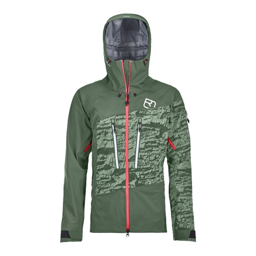 Bunda Ortovox W's Guardian Shell Jacket | Green Forest M