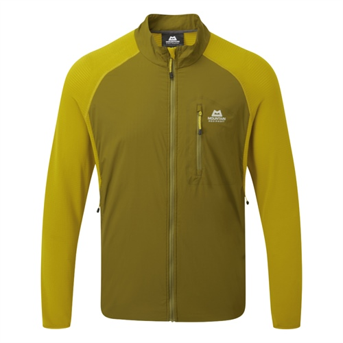 Fleece Mountain Equipment Trembler Jacket | Fir Green/Acid S