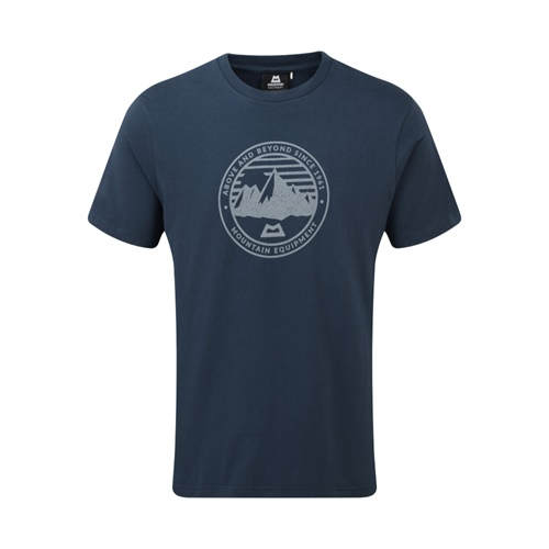 Tričko Mountain Equipment Roundel Tee | Denim Blue M
