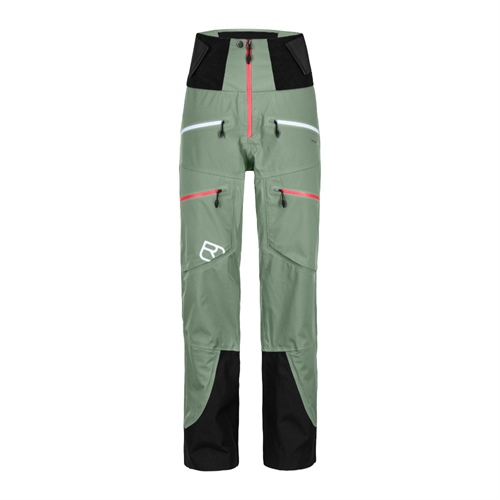Kalhoty Ortovox W's Guardian Shell Pants | Green Isar M