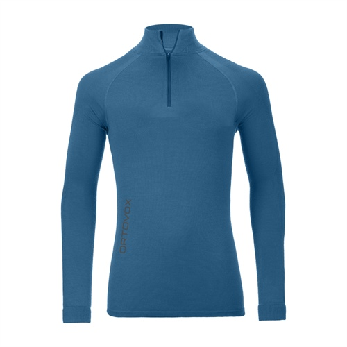 Termoprádlo Ortovox Merino Competition Long Sleeve Zipper | blue sea M