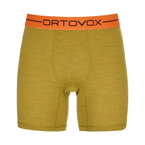 Termoprádlo Ortovox 185 Rock'n'Wool Boxer | Yellow Corn Blend S