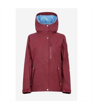 corpus_women_insulatedgoretex_jacket_cabernet_ghost_front