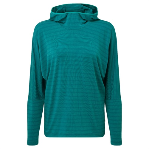Fleece Mountain Equipment W's Groundup Hoody | Tasman Blue stripe 14
