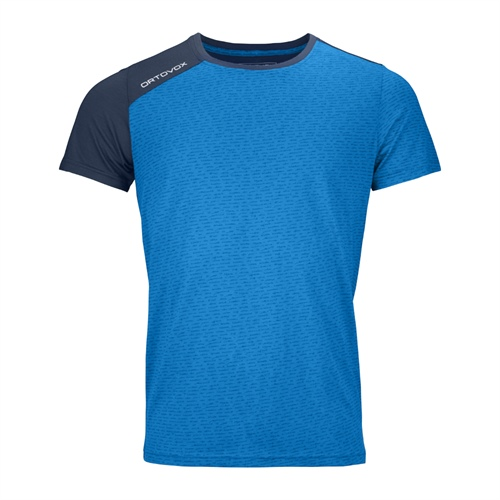Tričko Ortovox 120 Tec T-Shirt | Safety Blue XXL