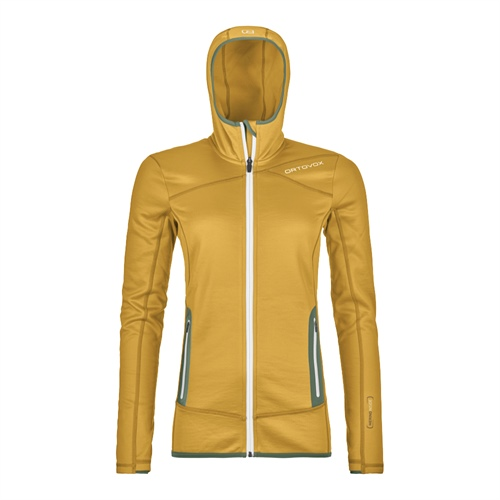Fleece Ortovox W's Fleece Hoody | Yellowstone M