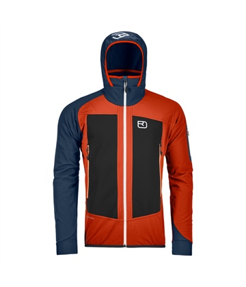 Bunda Ortovox Col Becchei Jacket | Desert Orange S