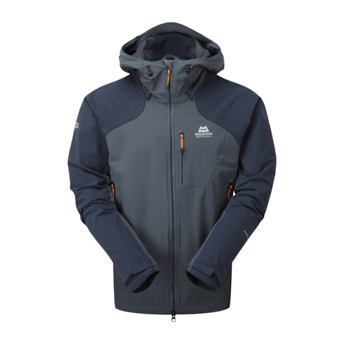Bunda Mountain Equipment Frontier Hooded Jacket | ombre blue/cosmos L