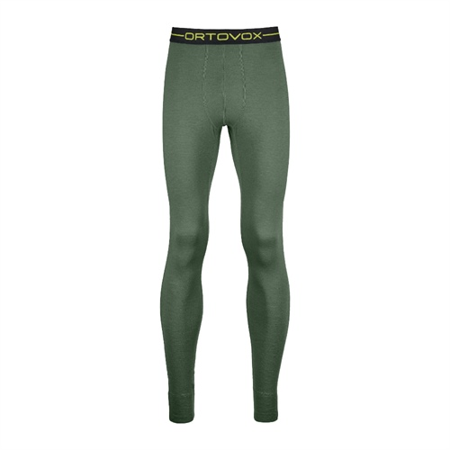 Termoprádlo Ortovox 145 Ultra Long Pants | Green Forest S