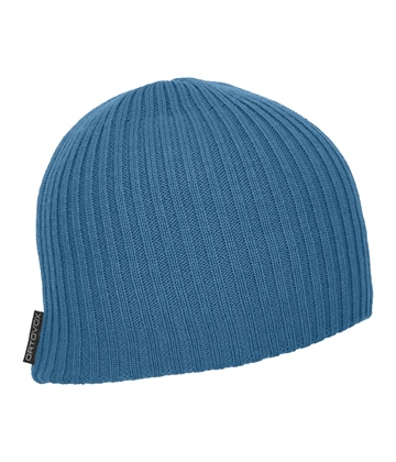 MERINO-HEADWEAR-DOUBLE-RIB-LOGO-BEANIE-68009-blue-sea-MidRes