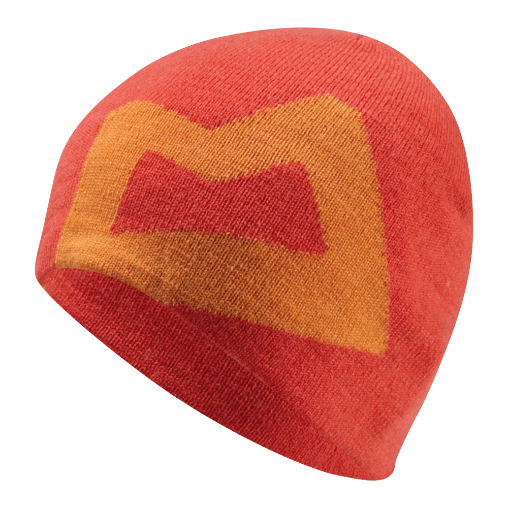 OUTLET - Čepice Mountain Equipment Branded Knitted Beanie  Cardinal/Russet