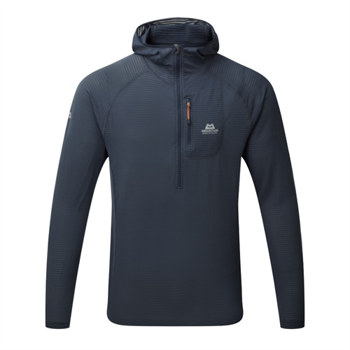OUTLET - Fleece Mountain Equipment Solar Eclipse Hooded Zip Tee | Blue Nights L