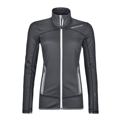 Fleece Ortovox W's Fleece Jacket | Black Steel M