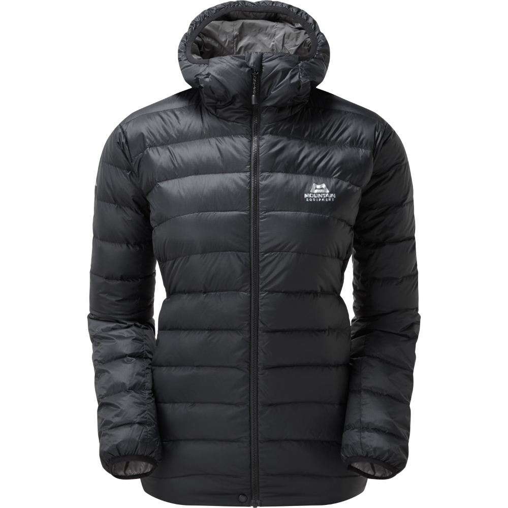 Bunda Mountain Equipment W's Frostline Hooded Jacket  Black 10
