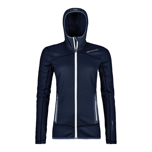 Fleece Ortovox W's Fleece Hoody | Dark Navy M