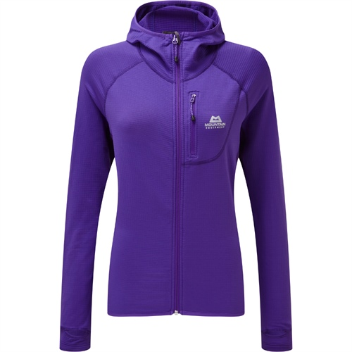 Fleece Mountain Equipment W's Eclipse Hooded Jacket | Han Purple 12