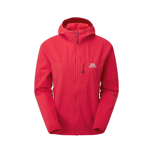 Bunda Mountain Equipment W's Echo Hooded Jacket | Capsicum Red 8