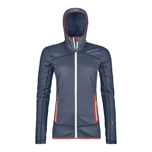 Fleece Ortovox W's Fleece Hoody | Night Blue M