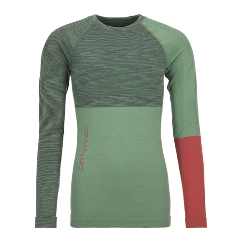 Termoprádlo Ortovox W's 230 Competition Long Sleeve | Green Isar Blend M