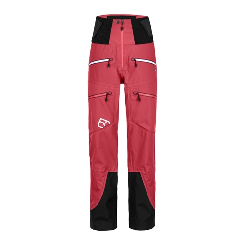 Kalhoty Ortovox W's Guardian Shell Pants | Hot Coral L
