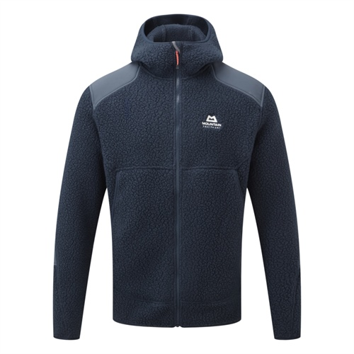 Fleece Mountain Equipment Moreno Hooded Jacket | Cosmos/Blue Nights XXL