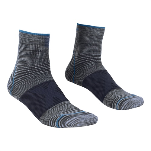 Ponožky Ortovox Alpinist Quarter Socks | Grey Blend 42/44