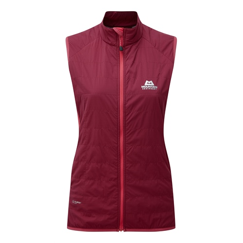 Vesta Mountain Equipment W's Switch Vest | Cranberry/Virtual Pink 8