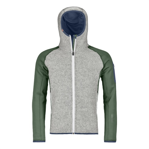 Fleece Ortovox Fleece Plus Classic Knit Hoody | Green Forest M