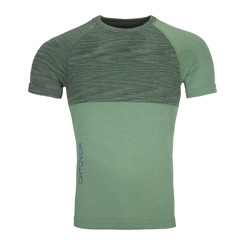 Termoprádlo Ortovox 230 Competition Short Sleeve | Green Isar Blend M