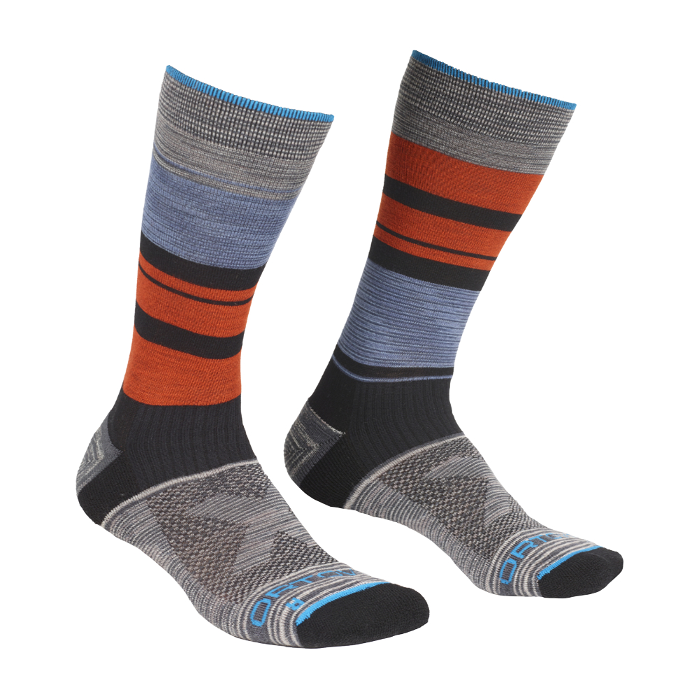 Ponožky Ortovox All Mountain Mid Socks  Multicolour 45-47