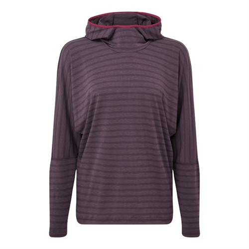 Fleece Mountain Equipment W's Groundup Hoody | Blackberry stripe 12