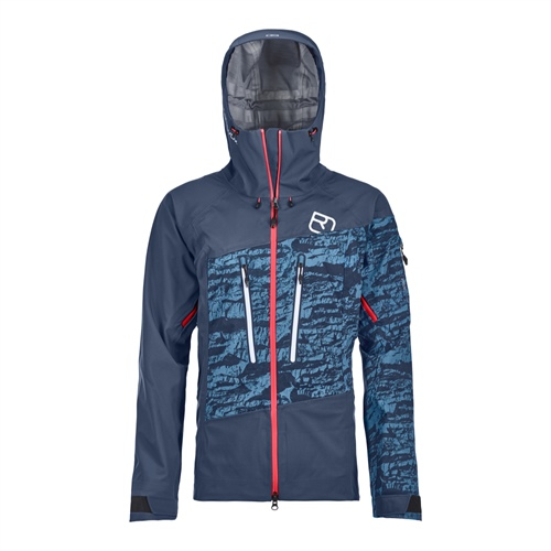 Bunda Ortovox W's Guardian Shell Jacket | Night Blue L