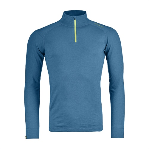 Termoprádlo Ortovox 145 Ultra Zip Neck | blue sea M