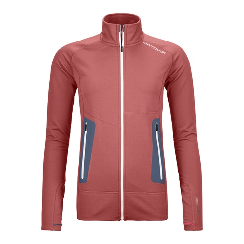 Fleece Ortovox W's Fleece Light Jacket | Blush S