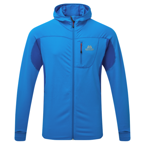Fleece Mountain Equipment Eclipse Hooded Jacket | Finch Blue/Lapis XL