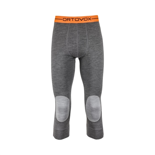 OUTLET - Termoprádlo Ortovox 185 Rock'n'Wool Short Pants | dark grey blend XL