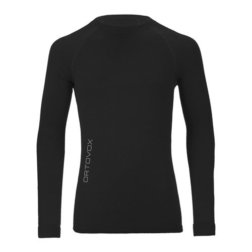OUTLET - Termoprádlo Ortovox Merino Competition Long Sleeve | Black Raven S