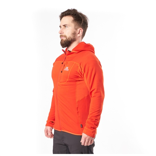 Fleece Mountain Equipment Eclipse Hooded Jacket | cardinal orange L